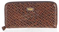 Стильный оригинальный женский кожаный кошелек с замши высокого качества ELEGANT art. 5245#ZP1-3 коричневый, фото 1