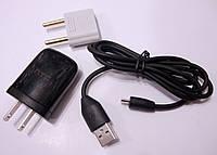 Зарядное устройство сетевое micro-USB HTC (адаптер+кабель)