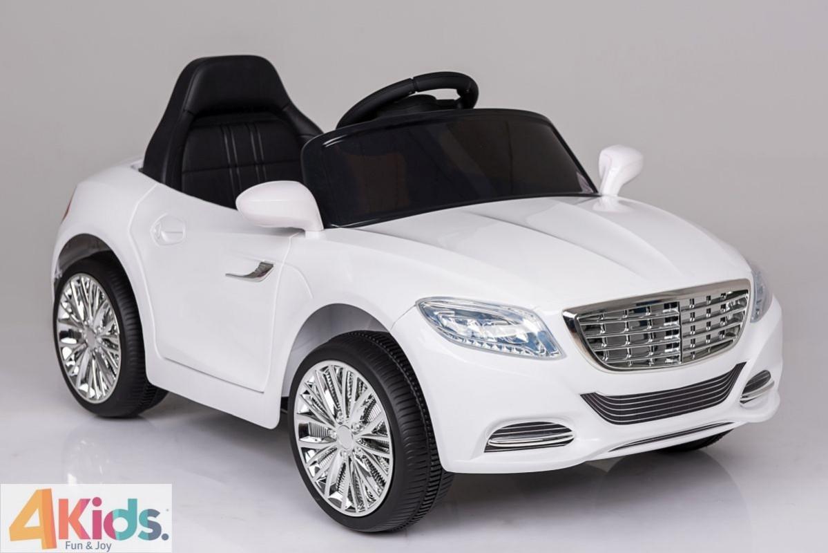 Детский электромобиль Cabrio Exclusive 2017: 2.4G, EVA, 90W, Эко-кожа - Белый (6592515915)- купить оптом