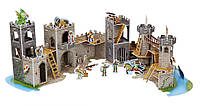 "3D пазлы ""Средневековый замок"" (Medieval Castle 3D Puzzle) больше 100 деталей ТМ Melissa & Doug MD9046"