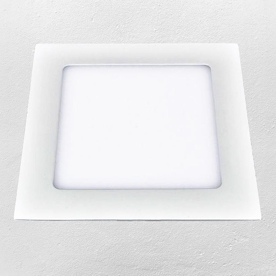 Светодиодный LED точечный врезной светильник 24W (квадрат) нейтральный