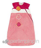 Cпальник для новорожденного, 0-6 мес., 6-18 мес. (Конверт для сна, спальный мешок) ТМ PERLIM PINPIN Птички