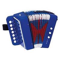 Аккордеон детский, музыкальный инструмент. (ТМ Bino 86584)