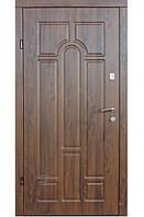 Входная уличная дверь с притвором модель Лагуна