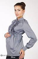 Блузка для беременных Michele р. 44-50 ТМ Юла Мама Синий N14-7.10.1