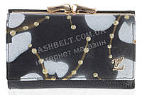 Компактный оригинальный женский кожаный кошелек высокого качества LOUI VEARNE art. LOU044-03A черный, фото 1