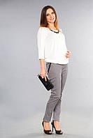 Брюки классические для беременных Модный силуэт р. 42-52 ТМ NowaTy 16020206