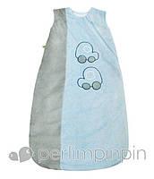 Велюровый спальник для новорожденного, 0-6 мес., 6-18 мес. (Конверт для сна, спальный мешок) ТМ PERLIM PINPIN