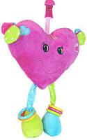 Погремушка подвеска Сердце Devik