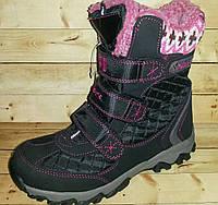 Детские зимние ботинки GFB размеры 33-35