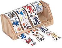 Гигантский набор наклеек на ролике для мальчиков, 1300 шт. (Melissa & Doug,  MD4275)