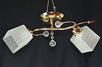 Люстра потолочная двухламповая PR37275B-2FG, фото 1