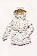Демисезонная куртка для девочек 1,5 года - 5 лет, р. 86-104 ТМ Модный карапуз (03-00642-0)