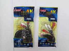 Аудио-видео кабель  RCA-RCA 3M   f