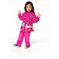 Демисезонный комплект 3 в 1 для девочки 6 мес.-10 лет (куртка, брюки, кофта, шапка) ТМ Deux par Deux PF52-647