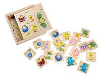Деревянная детская игра найди пару - Животные ТМ Bino 84167