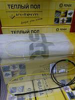 Мат нагревательный In-Term FENIX Чехия на 3.2 м.кв комплект для теплого пола