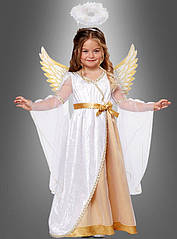Платье детское для образа ангела с крыльями