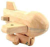 """Деревянная игрушка Конструктор Самолет в картонной коробке ТМ """"Игрушки из дерева"""" Д022"""