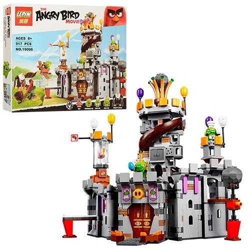 Детский Конструктор Angry Birds - Замок Короля свинок, Lepin 19006