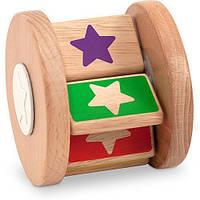 """Деревянная крутилка """"Звездочка"""" ТМ Melissa & Doug (деревянная игрушка) MDMD4045"""