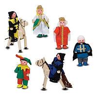 Деревянные фигурки для рыцарского замка Melissa & Doug MD285