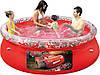Надувной бассейн Тачки Bestway 91026 (244х66 см. )