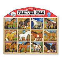 """Деревянный набор """"Конюшня - фигурки лошадей"""" ТМ Melissa & Doug MD10592"""