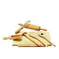 Деревянный набор для выпечки (8 предметов) ТМ Bino, 83415