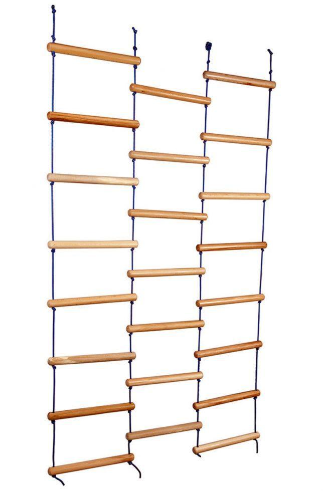 Дитяча мотузкові сходи - ліана ТМ SportBaby Натуральне дерево sport-15