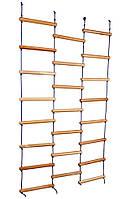 Детская веревочная лестница - лиана ТМ SportBaby Натуральное дерево sport-15