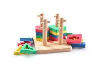 Детская деревянная игрушка Сортер-пазл ТМ Lucy&Leo LL111