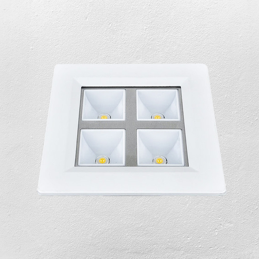 Светодиодный LED точечный врезной светильник 4W (28-BBWY4W холодный)