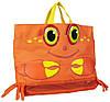 "Детская пляжная сумочка ""Мистер Краб"" (Clicker Crab Beach Tote Bag) ТМ Melissa & Doug оранжевый MD6419, фото 2"