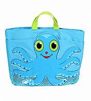 """Детская пляжная сумочка """"Осьминог Флекс"""" (Flex Octopus Beach Tote Bag) ТМ Melissa & Doug синий MD6420"""