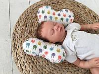 """Детская подушка для новорожденных """"Butterfly"""" ТМ MagBaby Разноцветный 110000"""