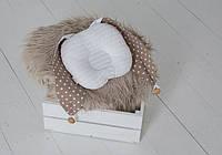 """Детская подушка для новорожденных """"Грызушка"""" ТМ MagBaby Разноцветный 130200"""
