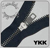 Молния металлическая №5 YKK 60cм темно-синяя