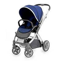 Детская прогулочная коляска Oyster 2 Navy / Mirror ТМ BabyStyle