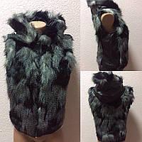 Теплая жилетка зима