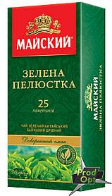 Чай Майский Зелена пелюстка 25 пакетів