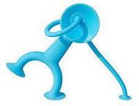 Детская силиконовая игрушка Уги младший (8 см) ТМ Moluk Голубой 43202
