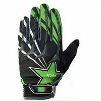 Детские защитные перчатки Green Cycle NC-2355-2014 MTB с закрытыми пальцами размер S ТМ Green Cycle CLO-28-80