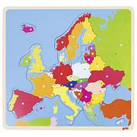 GOKI - Деревянные пазлы Карта Европы