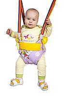 Детские прыгунки - тарзанка - качели с валиками (подлокотниками) ТМ SportBaby Прыгунки -2