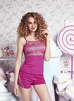 Красивый женский комплект из маечки и шортиков Anabel Arto