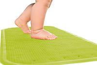Детский антискользящий коврик в ванную XL ТМ KinderenOK Зеленый
