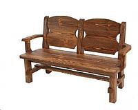 Кресло из дерева массив