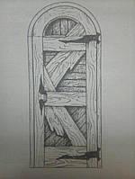 Дверь арочная межкомнатная