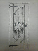 Дверь деревянная межкомнатная сосна